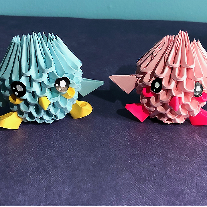 Learn the Art of 3-D Origami: Baby Bird
