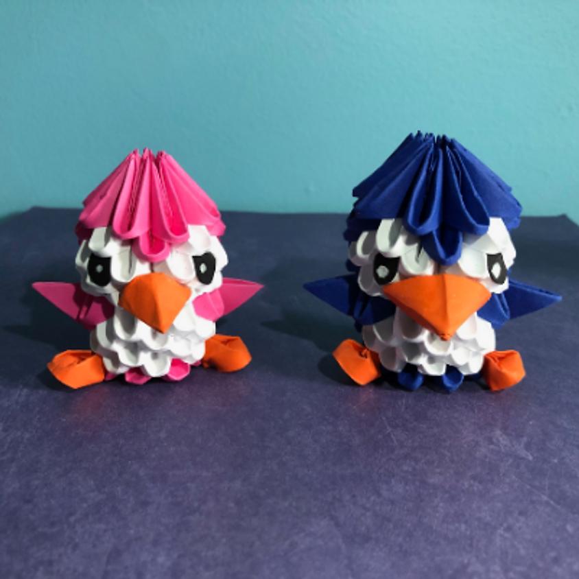 Learn the Art of 3-D Origami: Penguin