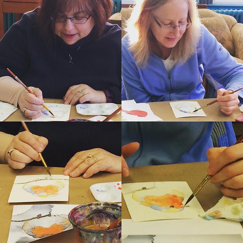 Watercolor Workshop: Winter Birds