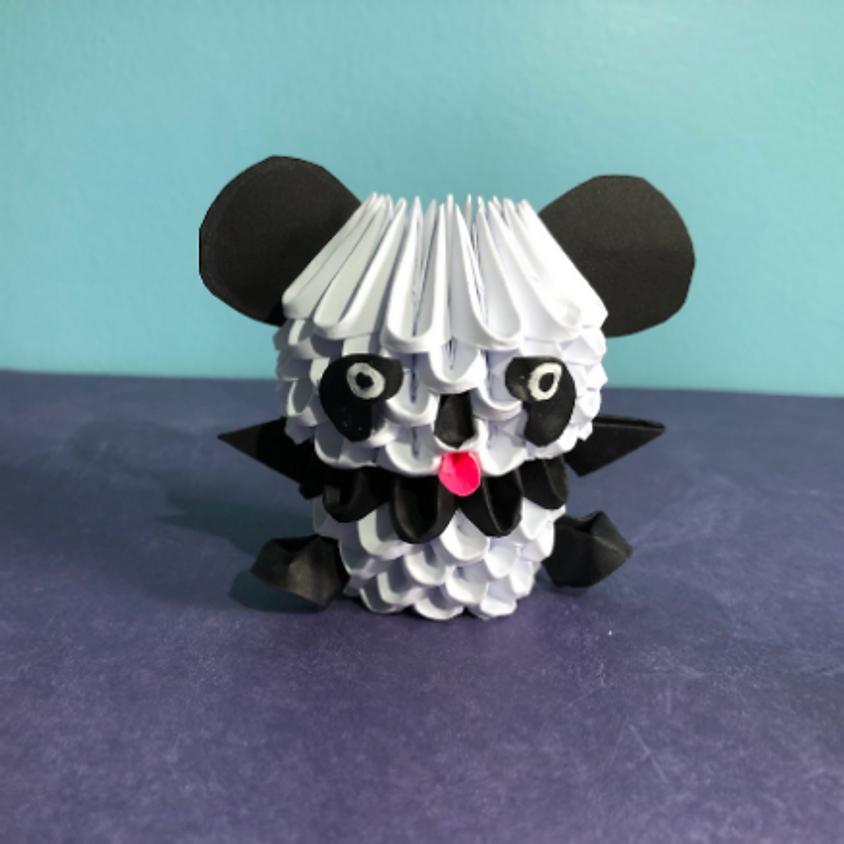 Learn the Art of 3-D Origami: Panda