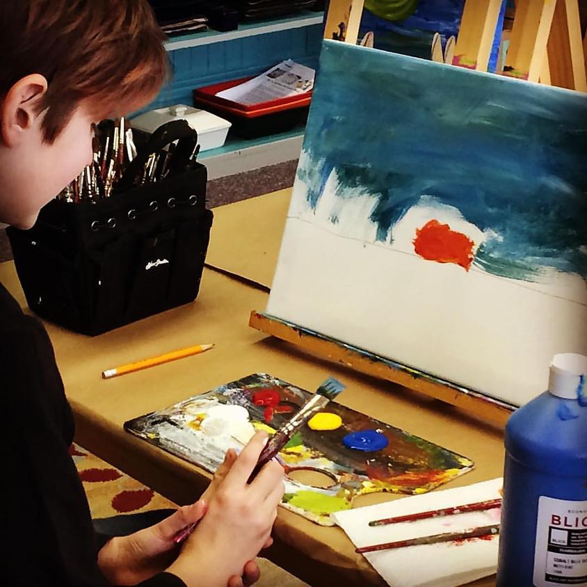Kids Art!: The Masters: Monet: Impressionist Painting