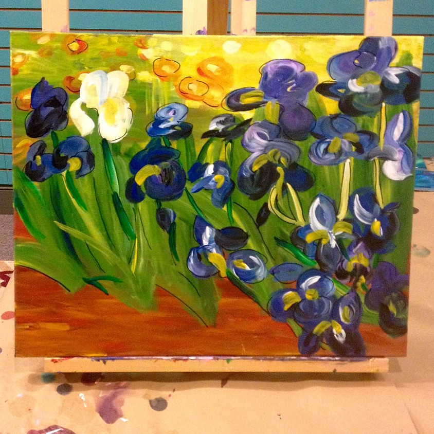 (BYOB) Paint Night @ The Place: Van Gogh's Irises