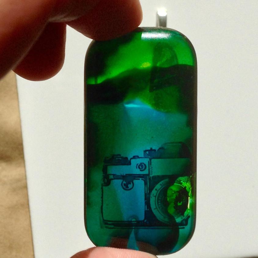 Alcohol Ink Jewelry: Pendants