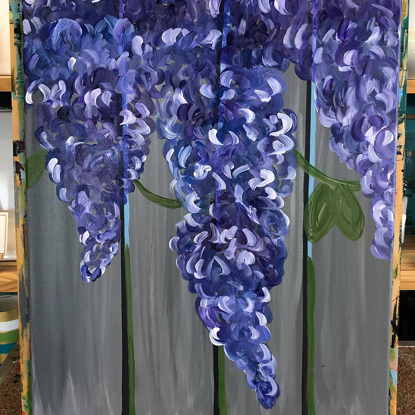 (BYOB) Paint Night @ The Place: Lilac Fence