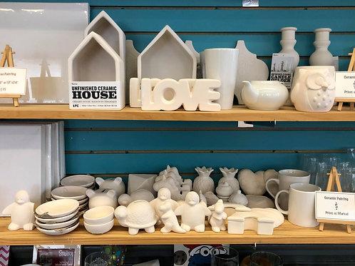 Take Home Kits, Ceramic & Glass