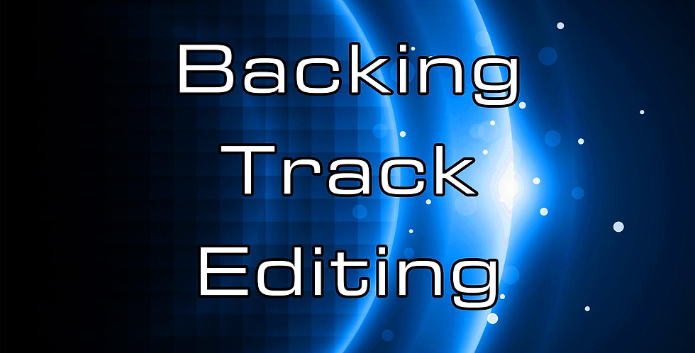 Backing Track Editing