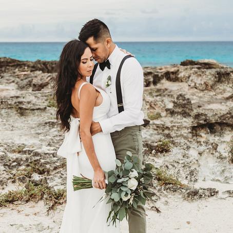 Gilbert & Carina's Cancun Wedding