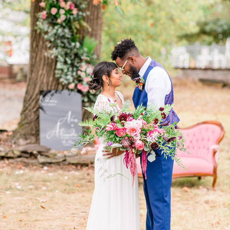 Delaware Industrial Styled Micro Wedding