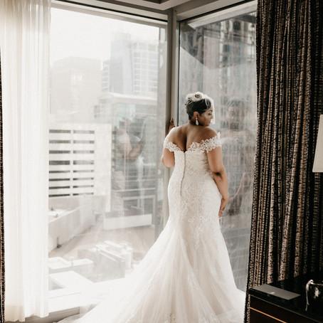 Timitra & Dejuan's Elegant Charlotte Wedding
