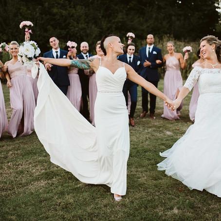 April & Kelly's Romantic Wedding