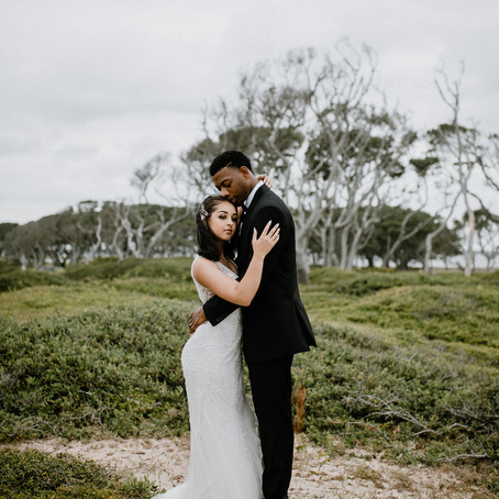 A'Lexus & Kirby's Nature Inspired Wedding Portraits