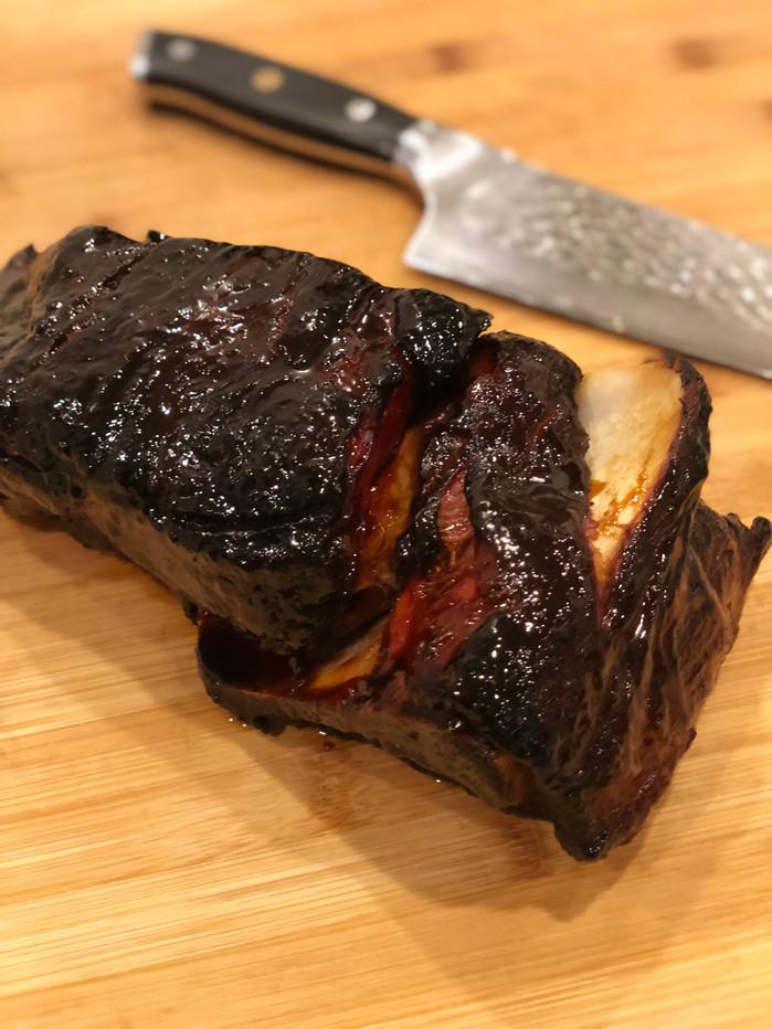 The BEST smoked Pork