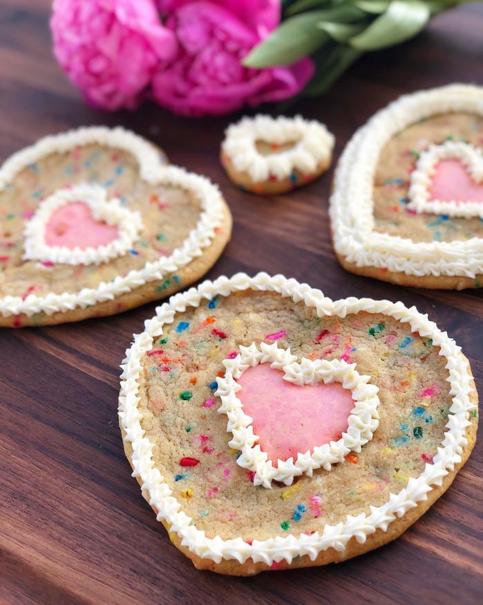 Soft Pop-Rock filled Sprinkle Cookies