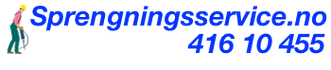 sprengningsservice.no logo