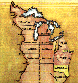 Thomas Jefferson's Mad Midwest Plan