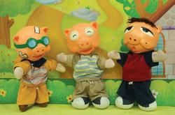 부자가 된 돼지삼형제-2