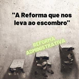 A Reforma que nos leva ao escombro