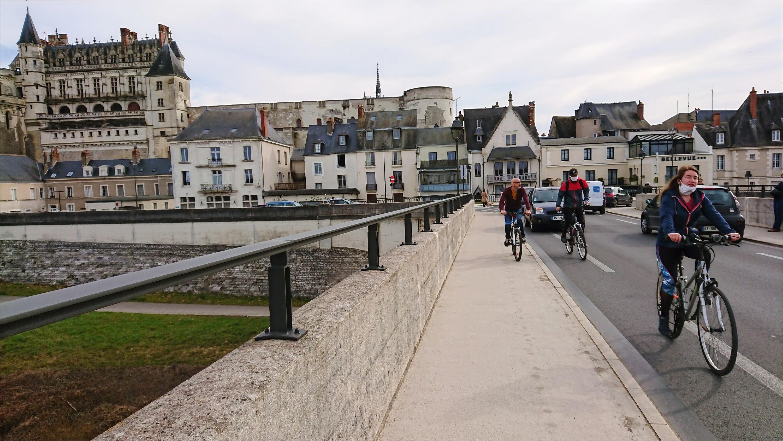 visites d'Amboise à vélo