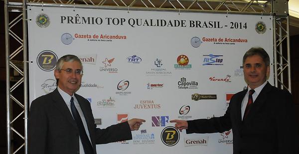 Prêmio Top Qualidade Brasil 2014