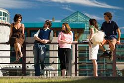 students-railing