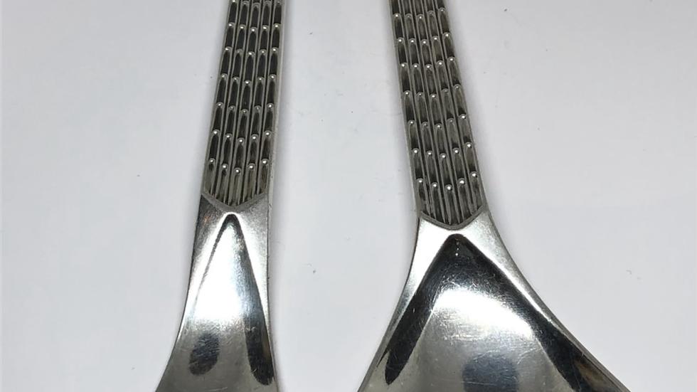 Polar salatbestikk i sølv