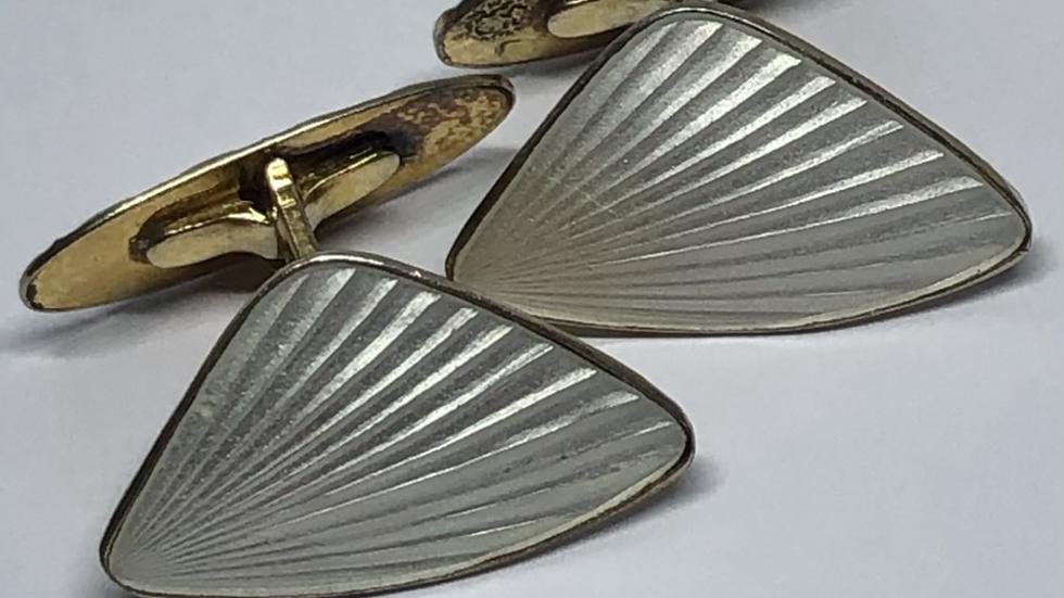 Mansjettknapper i sølv fra Østrem