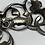 Thumbnail: Eldre halssmykke i sølv med markasitter