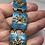 Thumbnail: Ivar T Holth armbånd i sølv og emalje