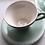 Thumbnail: To mokkakopper med skål selges samlet.