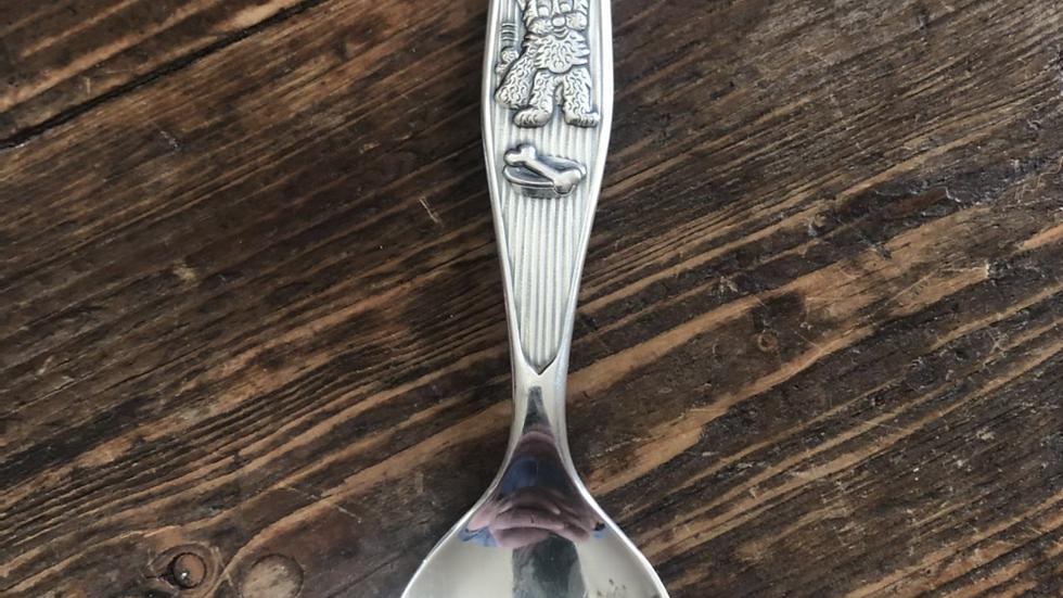 Barneskje i sølv