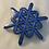 Thumbnail: Snøkrystall i sølv og emalje