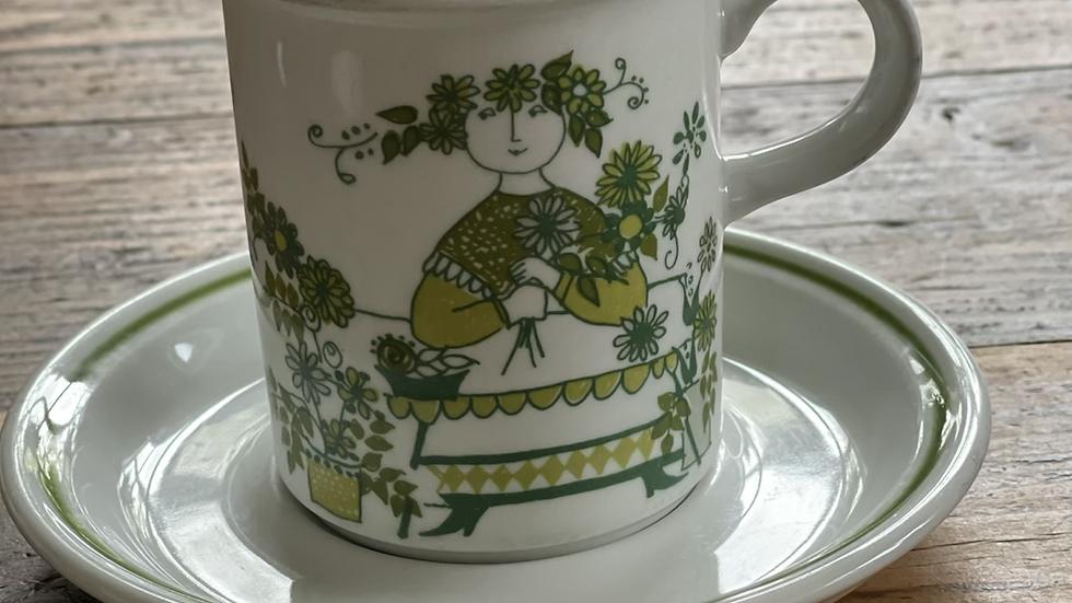 Figgjo Market kopp og skål