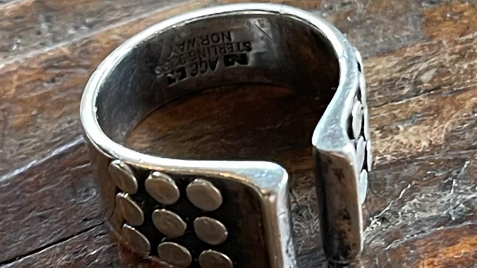 Anna Greta Eker ring i sølv