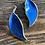 Thumbnail: David Andersen øreklips i sølv og emalje