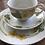 Thumbnail: Figgjo Bekkeblom tredelt kuvert med te-kopp
