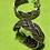 Thumbnail: Flettede øreringer i sølv