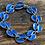 Thumbnail: David Andersen armbånd i sølv og emalje