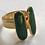 Thumbnail: Ring i sølv og emalje