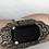 Thumbnail: Sølvring med sort onyx og malakitter