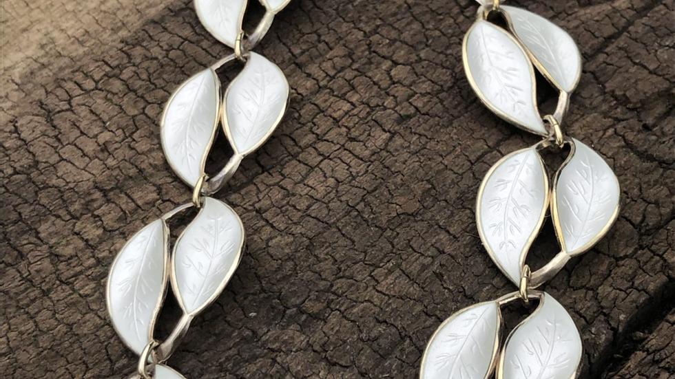 David-Andersen kjede i sølv og emalje