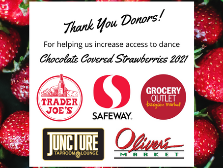 2021 Chocolate Covered Strawberries Fundraiser