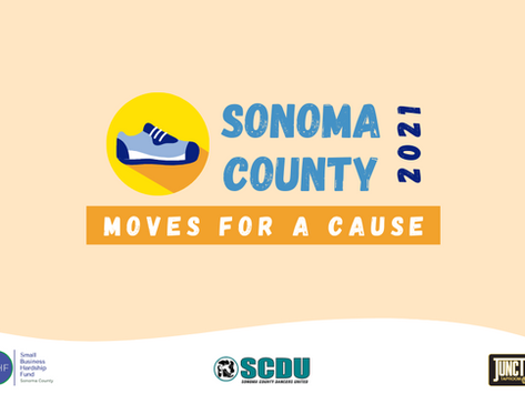 2021 Sonoma County Moves for a Cause Virtual 5K/10K Fundraiser
