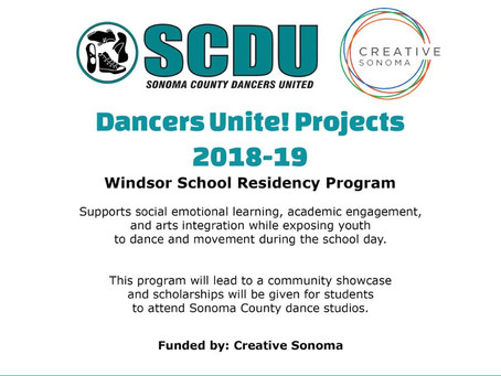 DancersUnite! Projects 2018-19