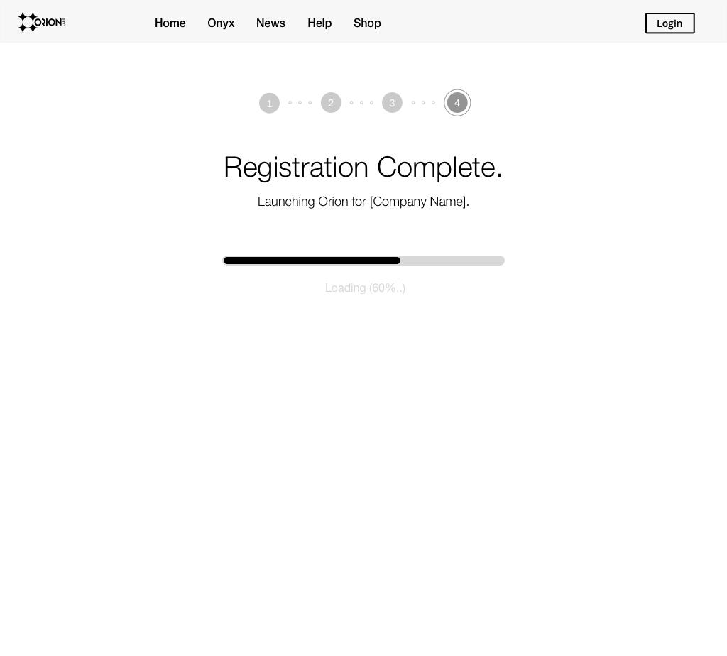 Registration Complete