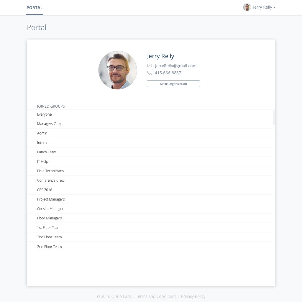 Non-billed User Profile