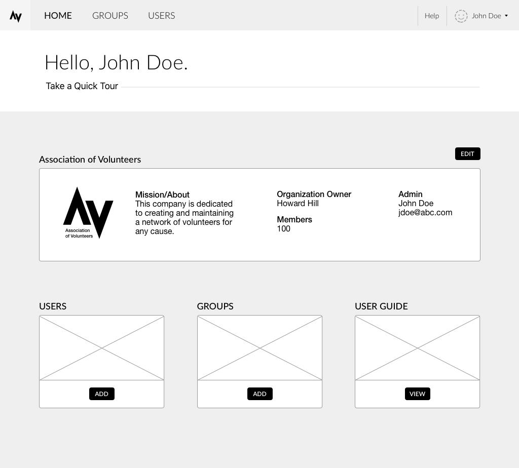 Home/Admin Portal