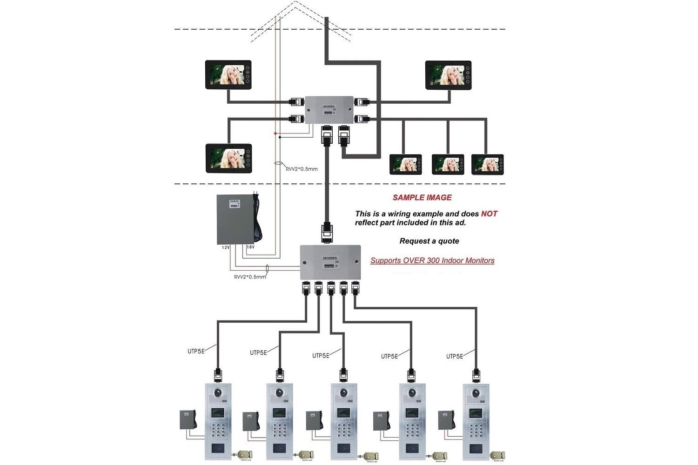 Aiphone Intercom Wiring Diagram Schematic Library