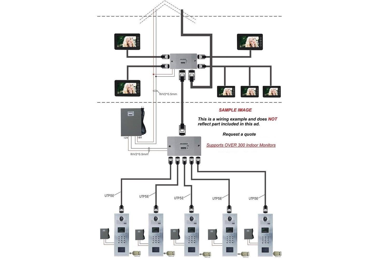Building Intercom Schematic Diagram on