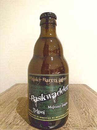 Baskwadder Tripel Whiskey Barrel aged