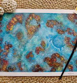 A reef maze